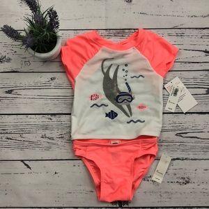 Old Navy Swim - Baby Girl 2PCS Set Swimsuits